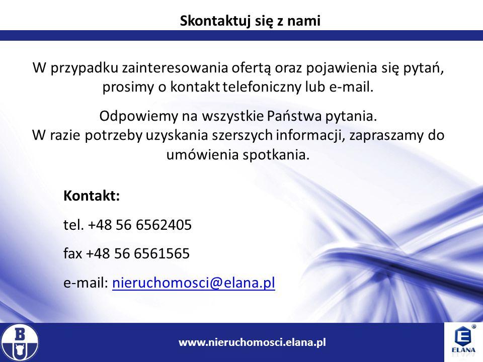 13 www.ir.boryszew.com.pl W przypadku zainteresowania ofertą oraz pojawienia się pytań, prosimy o kontakt telefoniczny lub e-mail. Odpowiemy na wszyst