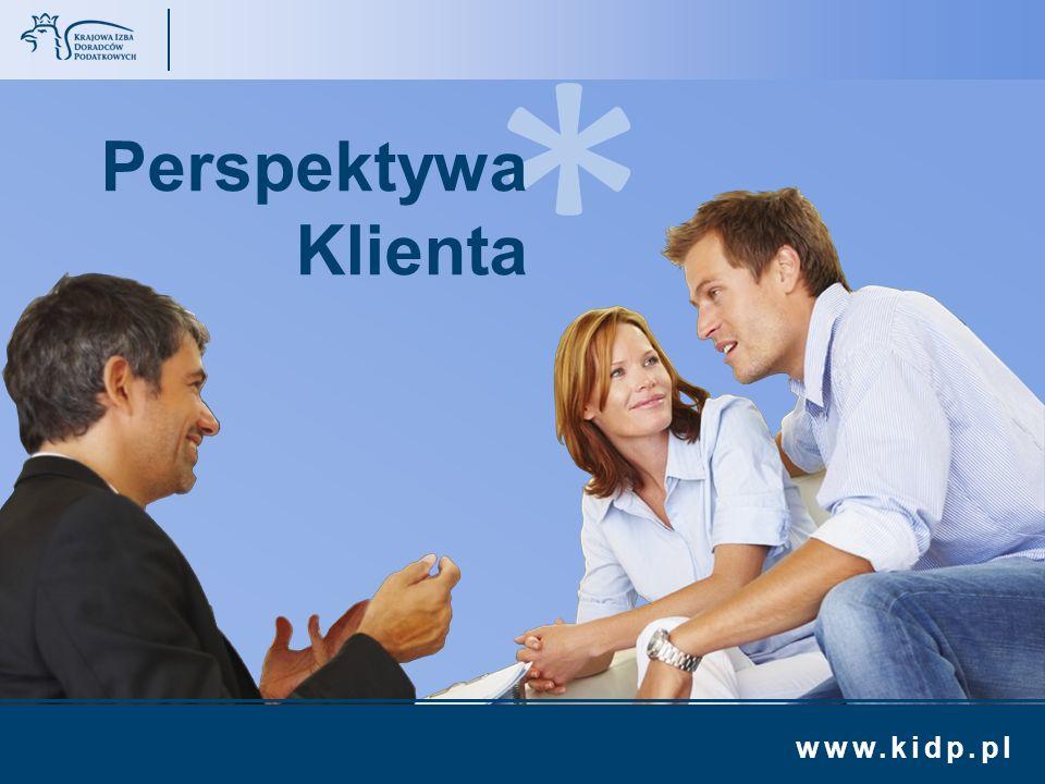 www.kidp.pl >>>>>> * Perspektywa Klienta