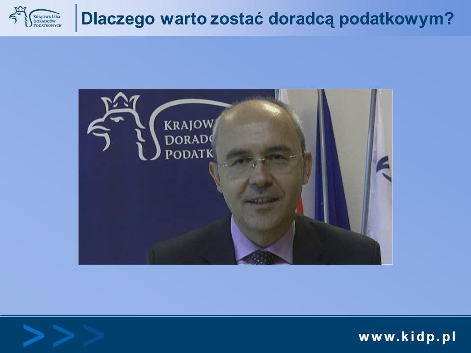 www.kidp.pl >>>>>> Dlaczego warto zostać doradcą podatkowym?