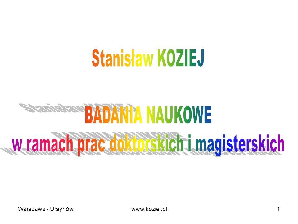 Warszawa - Ursynów1www.koziej.pl