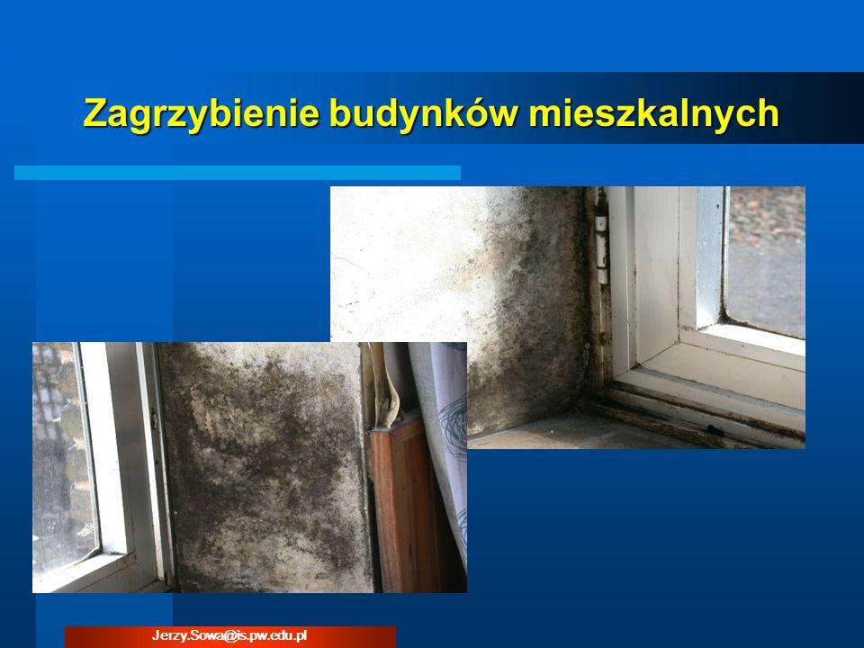 Zagrzybienie budynków mieszkalnych Jerzy.Sowa@is.pw.edu.pl