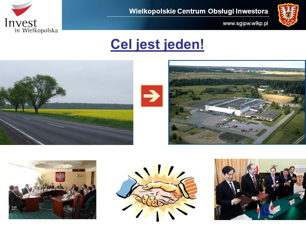 Wielkopolskie Centrum Obsługi Inwestora www.sgipw.wlkp.pl Cel jest jeden!