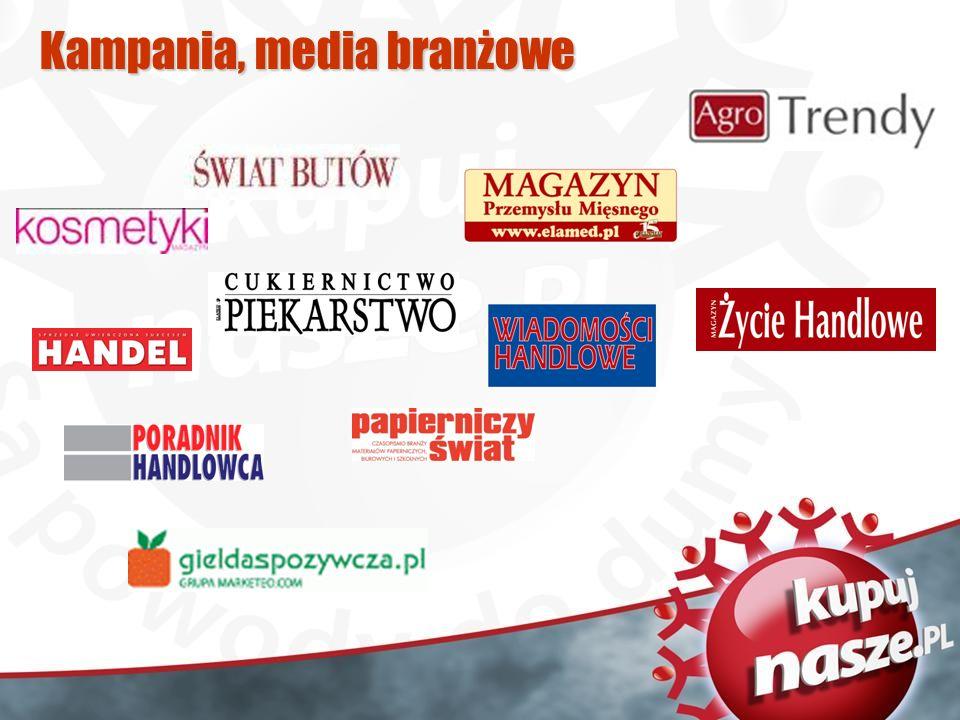 Kampania, media branżowe