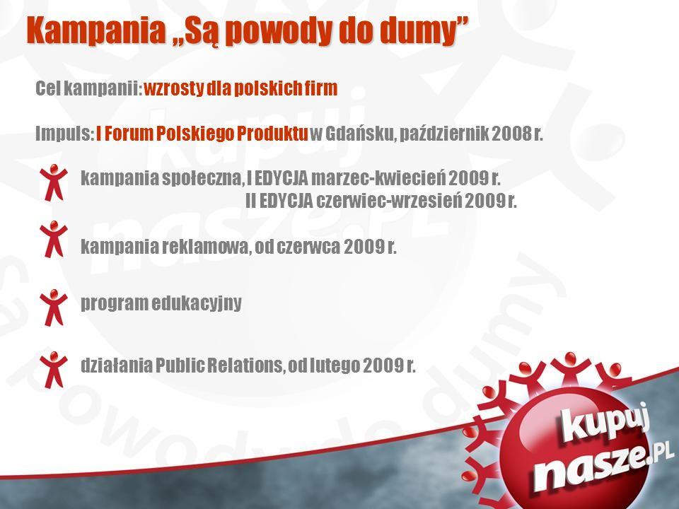 kampania społeczna, I EDYCJA marzec-kwiecień 2009 r.
