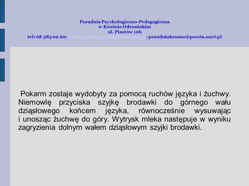 Poradnia Psychologiczno-Pedagogiczna w Krośnie Odrzańskim ul. Piastów 10b tel: 68 383 02 60; www.ppp.bip-poradniakrosnoo.pl; poradniakrosno@poczta.one