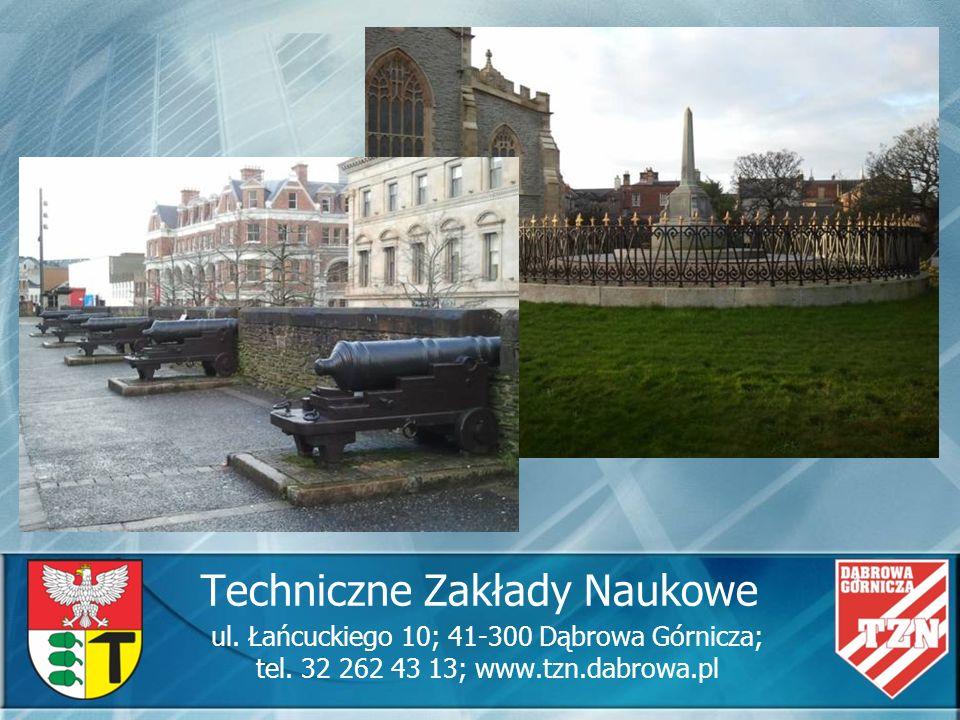 Techniczne Zakłady Naukowe ul. Łańcuckiego 10; 41-300 Dąbrowa Górnicza; tel. 32 262 43 13; www.tzn.dabrowa.pl
