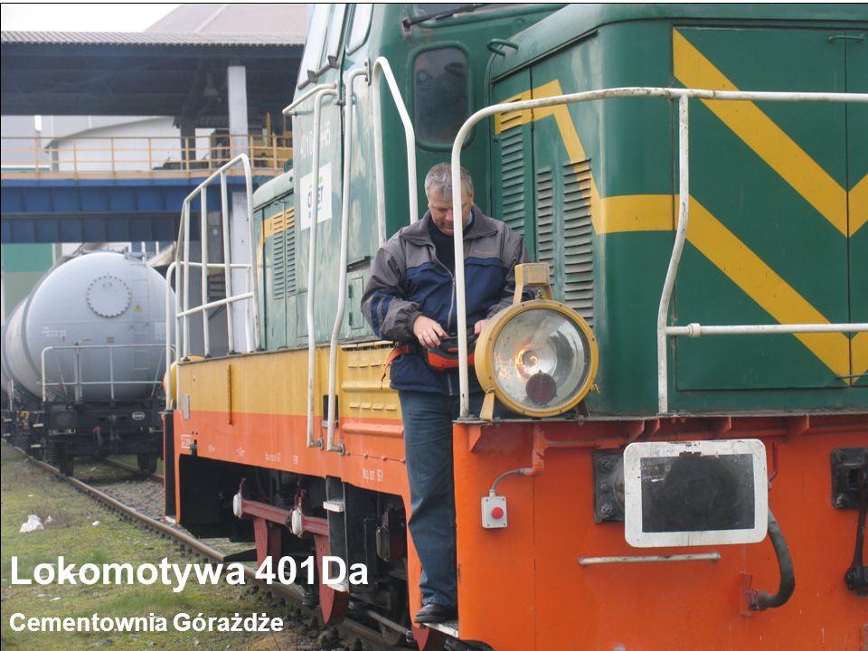 Radioautomatyka Sp. z o.o. ul. Sadowa 18, 05-520 Konstancin – Jeziorna www.radioautomatyka.pl Lokomotywa 401Da Cementownia Górażdże