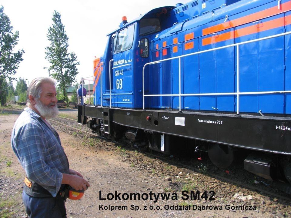 Radioautomatyka Sp. z o.o. ul. Sadowa 18, 05-520 Konstancin – Jeziorna www.radioautomatyka.pl Lokomotywa SM42 Kolprem Sp. z o.o. Oddział Dąbrowa Górni