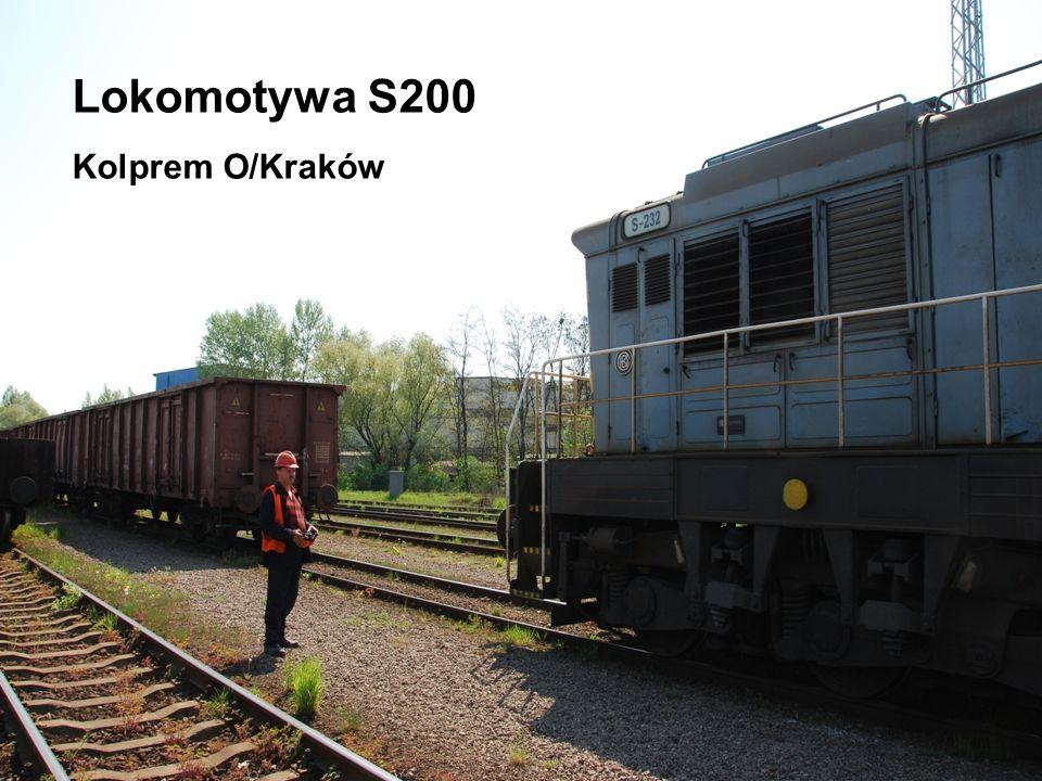Radioautomatyka Sp. z o.o. ul. Sadowa 18, 05-520 Konstancin – Jeziorna www.radioautomatyka.pl Lokomotywa S200 Kolprem O/Kraków