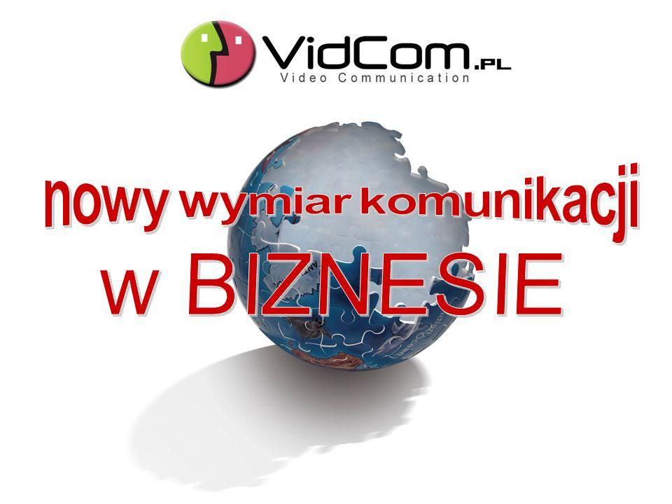 VidCom.pl dla: SPOTKAŃ HANDLOWYCH Z PARTNERAMI Konieczność dojazdu i czas potrzebny na dotarcie na miejsce spotkania Spotkanie sprzed własnego komputera - wystarczy kamera i mikrofon.