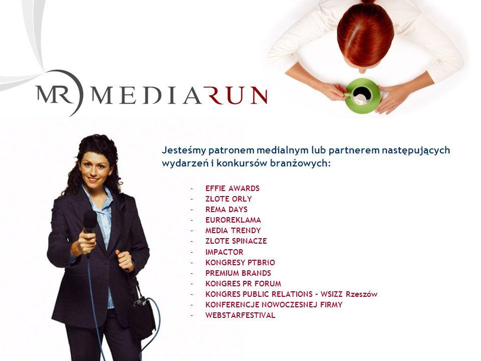 Copyright by Mediarun.pl 2000 - 2007 Cennik Mediarun.pl Przykładowe formy reklamy Double Billboard 750 x 200, max 30 kB ROS CPM - 250 PLN Netto