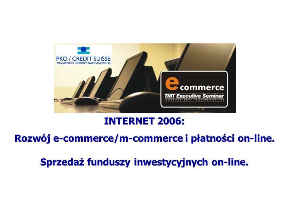 www.pkocs.pl INTERNET 2006: Rozwój e-commerce/m-commerce i płatności on-line.
