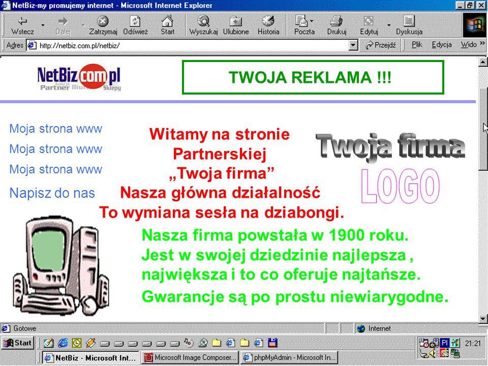 KATALOG BRANŻAUKCJE ON-LINESKLEP INTERNETOWY OK TWOJA REKLAMA !!! PARTNERA