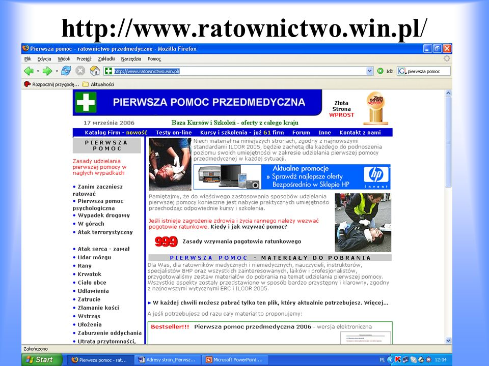 http://www.ratownictwo.win.pl/