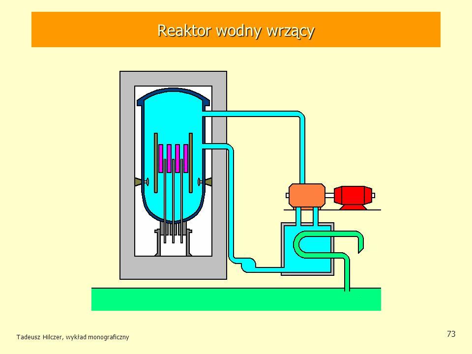 Tadeusz Hilczer, wykład monograficzny 73 Reaktor wodny wrzący