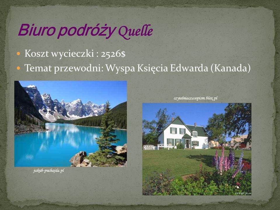 Położona jest w Kanadzie, przy zatoce św.Wawrzyńca.