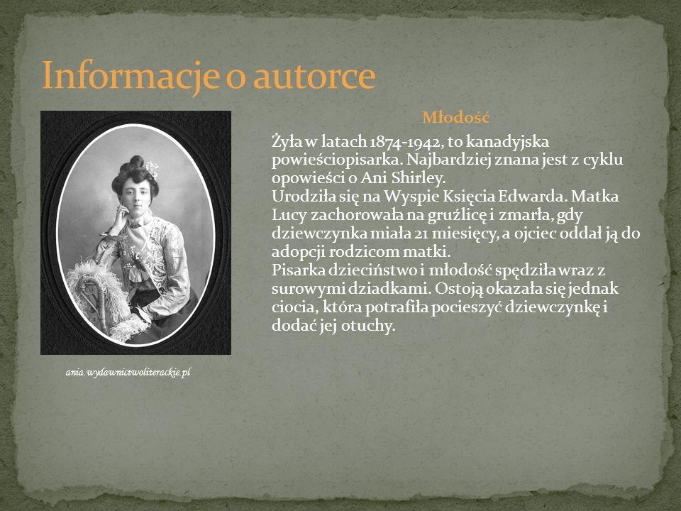 Dorosłe życie W 1891 roku ukończyła szkołę powszechną, a w 1894 kurs nauczycielski i później, jednakże krótko pracowała jako nauczyciel k a.