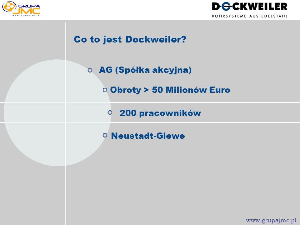 Więcej informacji www.grupajmc.pl www.dockweiler.com www.grupajmc.pl