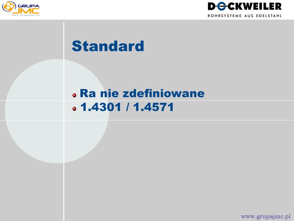 Wykonania rurowe przeznaczone dla Przemysłu Farmacetycznego www.grupajmc.pl