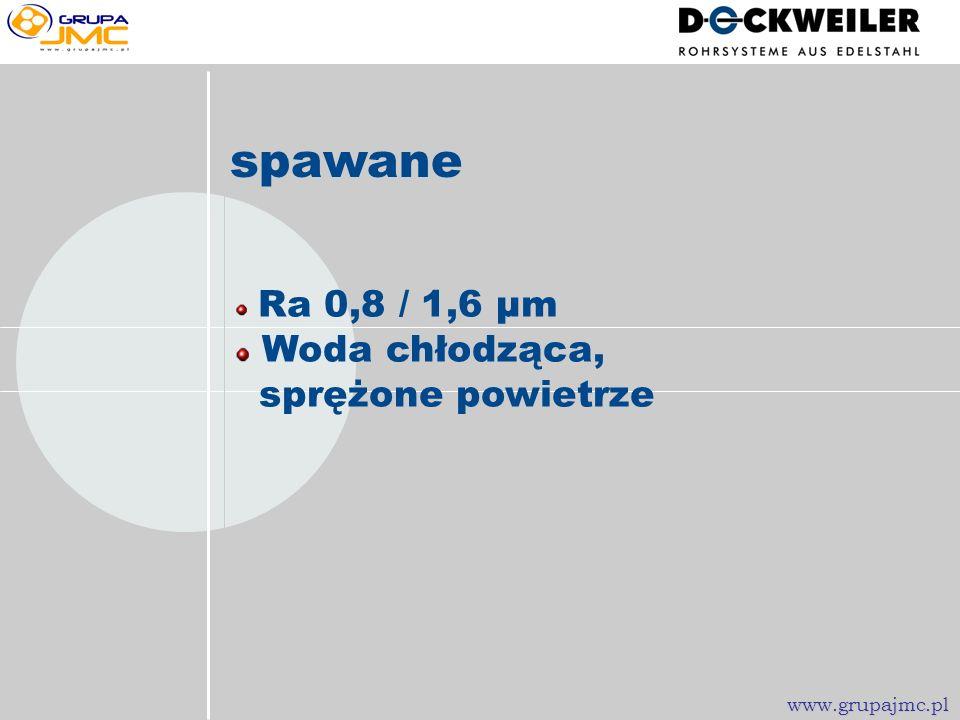 Standard Ra nie zdefiniowane 1.4301 / 1.4571 www.grupajmc.pl