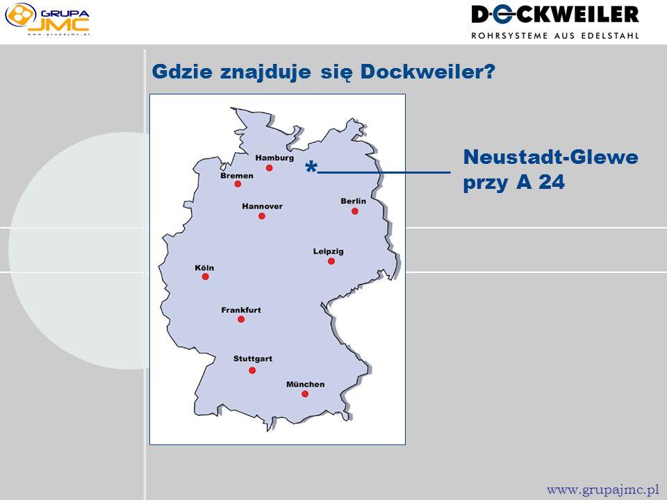 Co to jest Dockweiler? AG (Spółka akcyjna) Obroty > 50 Milionów Euro 200 pracowników Neustadt-Glewe www.grupajmc.pl