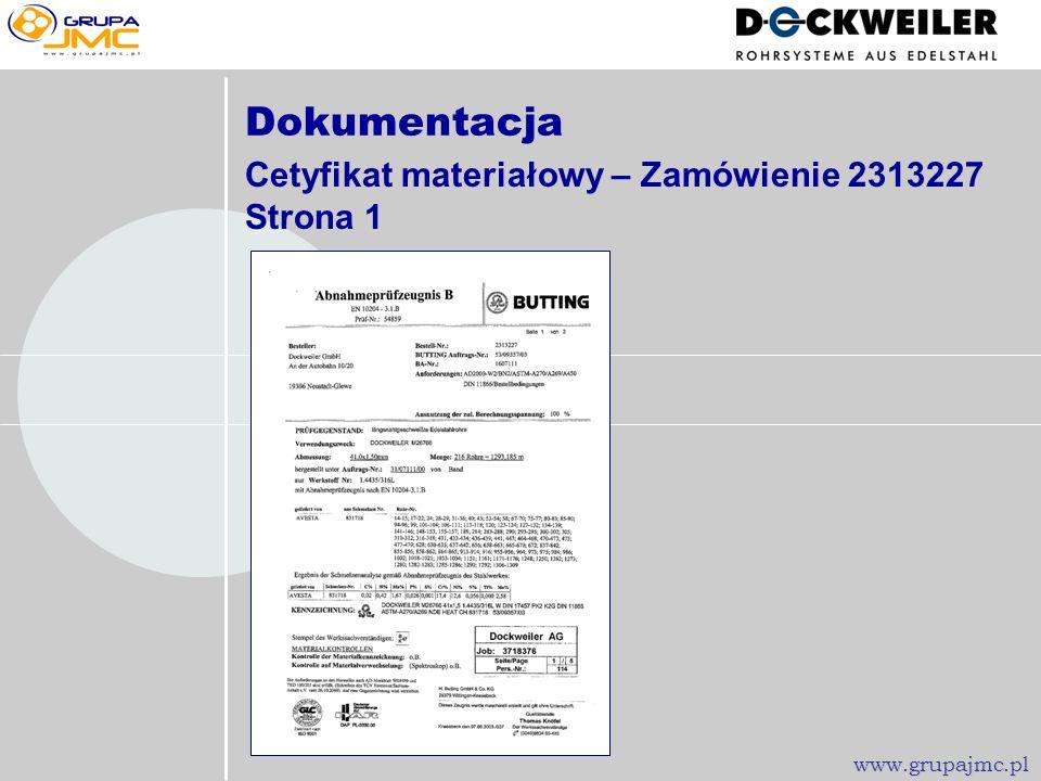 Serdeczne podziękowania za Państwa zainteresowanie! www.grupajmc.pl