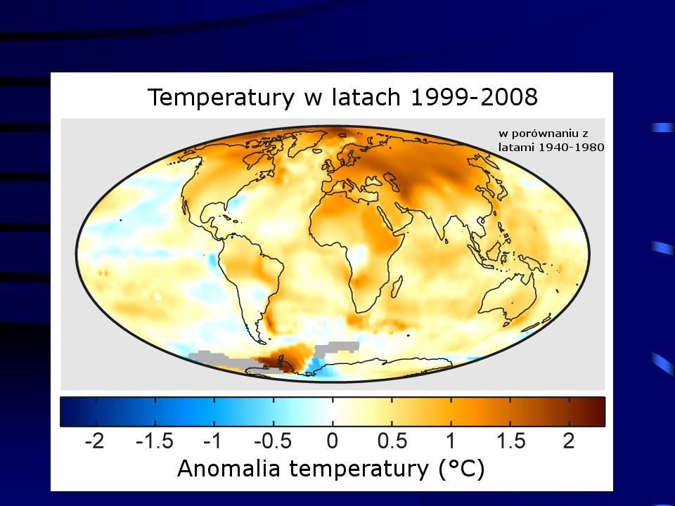 11/10/2013 Krzysztof Markowicz kmark@igf.fuw.edu.pl Efekt cieplarniany Zmiany koncentracji CO 2 Podwojenie CO 2 (2050 rok) prowadzi do wymuszania radiacyjnego +4W/m 2.