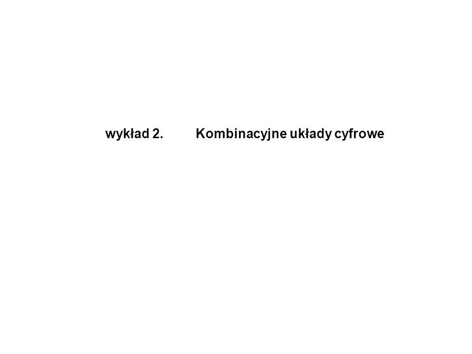 ABCS 0000 0101 1001 1110 ABAB S C Schemat logiczny tablica stanów symbol graficzny Σ A B S C Rys 2.1.