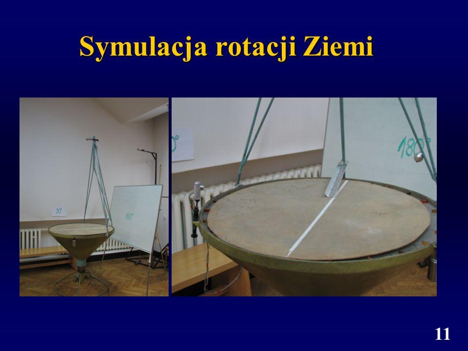 11 Symulacja rotacji Ziemi