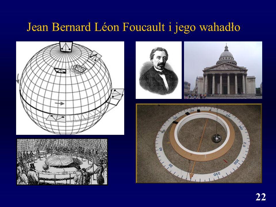 22 Jean Bernard Léon Foucault i jego wahadło
