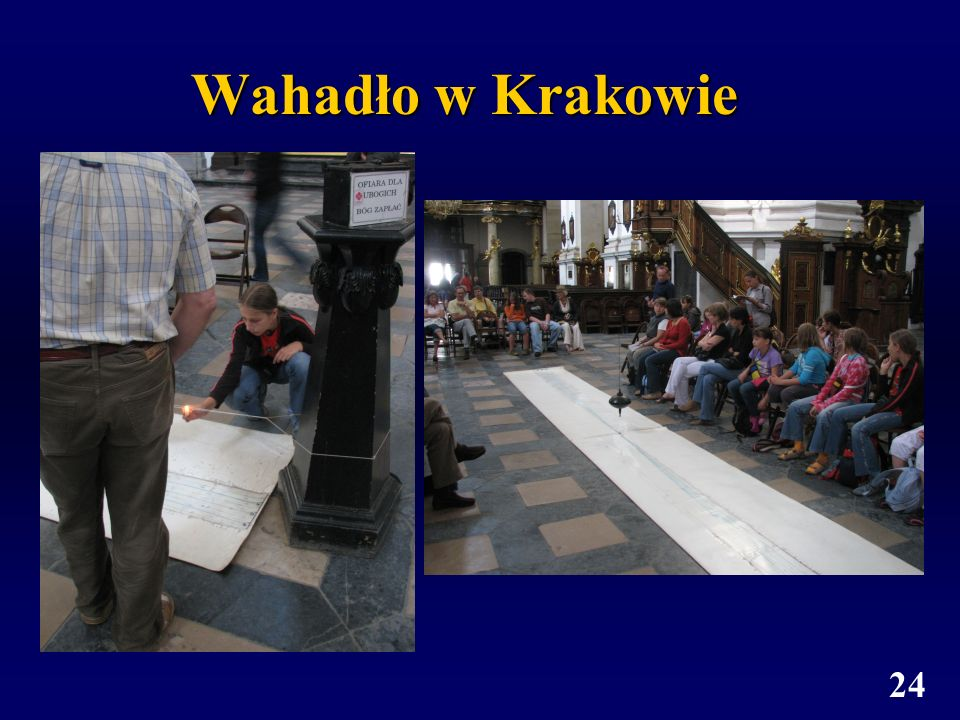24 Wahadło w Krakowie