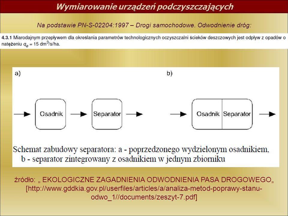 źródło: EKOLOGICZNE ZAGADNIENIA ODWODNIENIA PASA DROGOWEGO [http://www.gddkia.gov.pl/userfiles/articles/a/analiza-metod-poprawy-stanu- odwo_1//documen