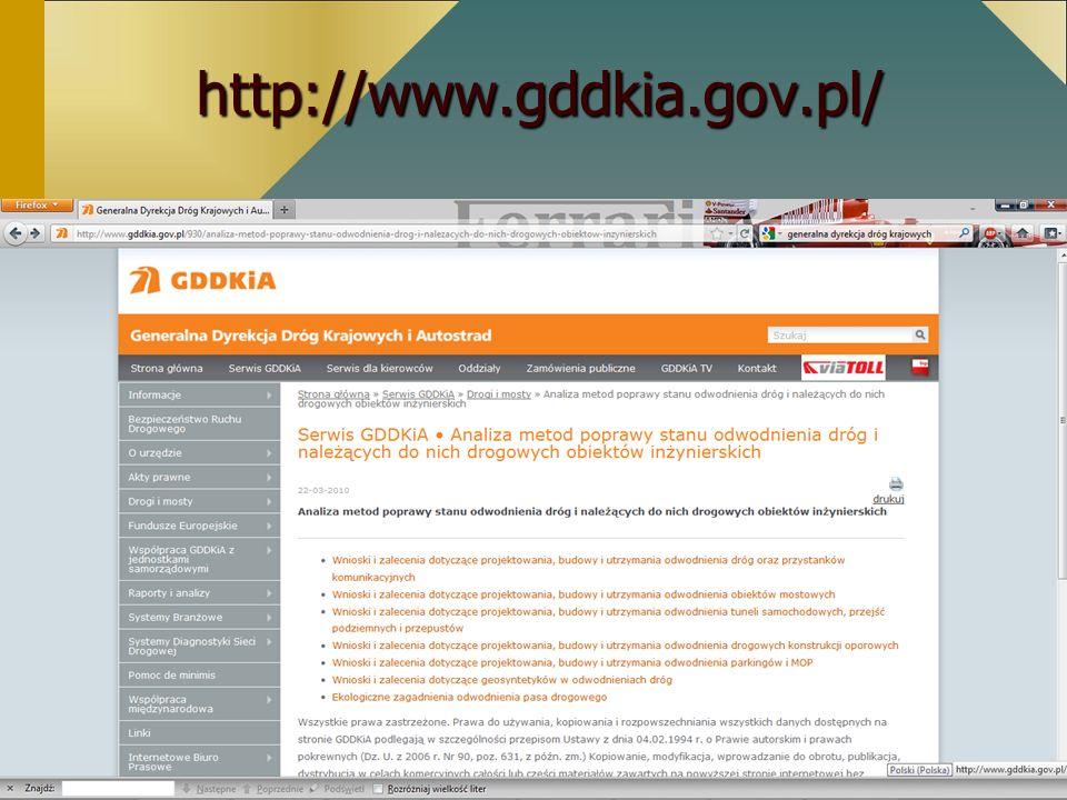 http://www.gddkia.gov.pl/