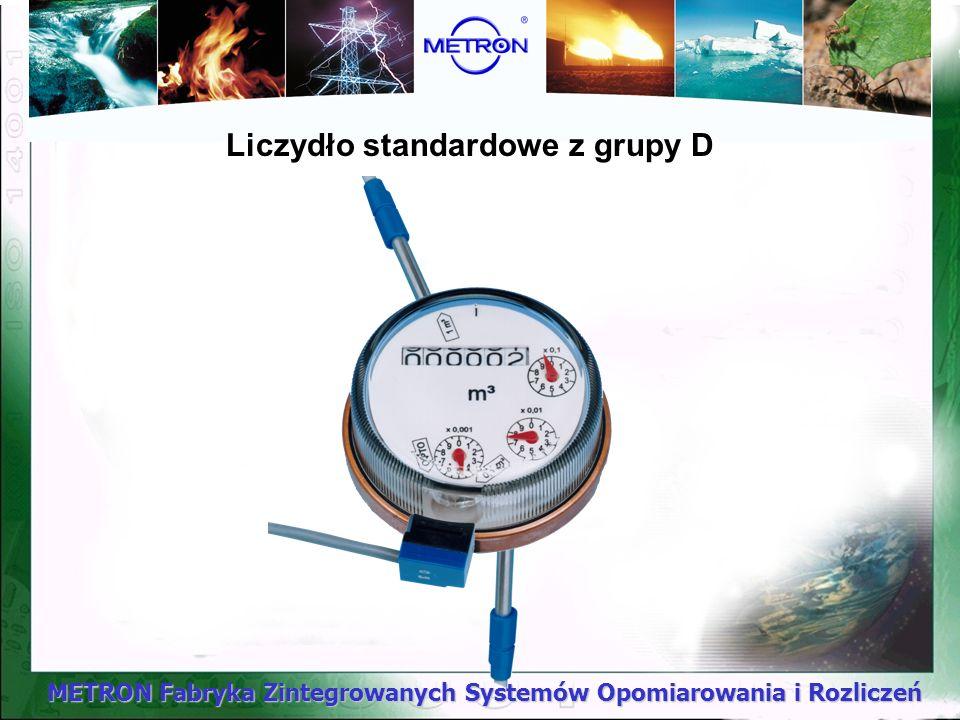METRON Fabryka Zintegrowanych Systemów Opomiarowania i Rozliczeń Liczydło standardowe z grupy D