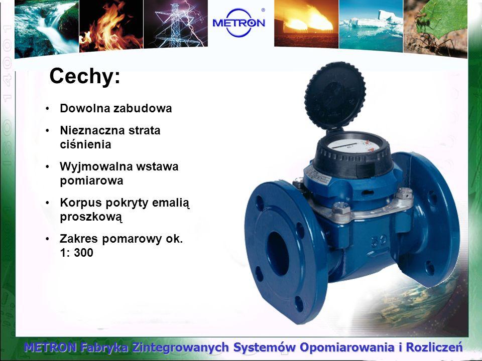METRON Fabryka Zintegrowanych Systemów Opomiarowania i Rozliczeń COSMOS WPD 50...