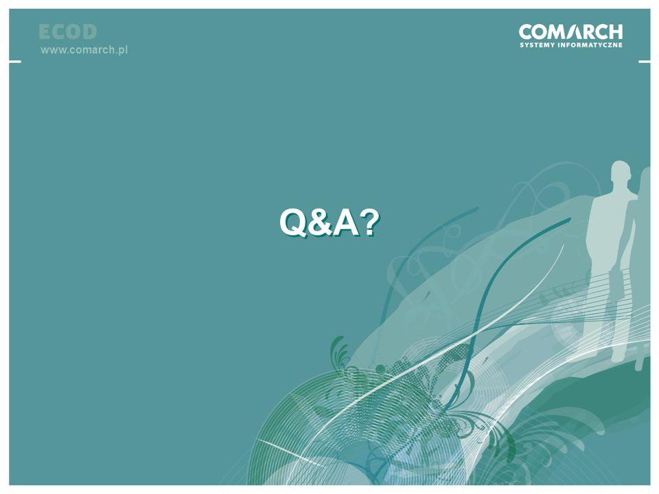 IV konferencja SEPA Q&A? www.comarch.pl