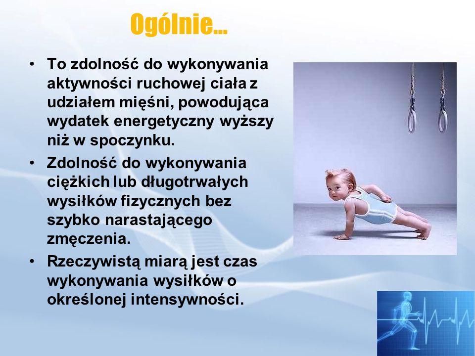 Zdolność pobierania tlenu przez organizm zależy od: Kapilaryzacji mięśni