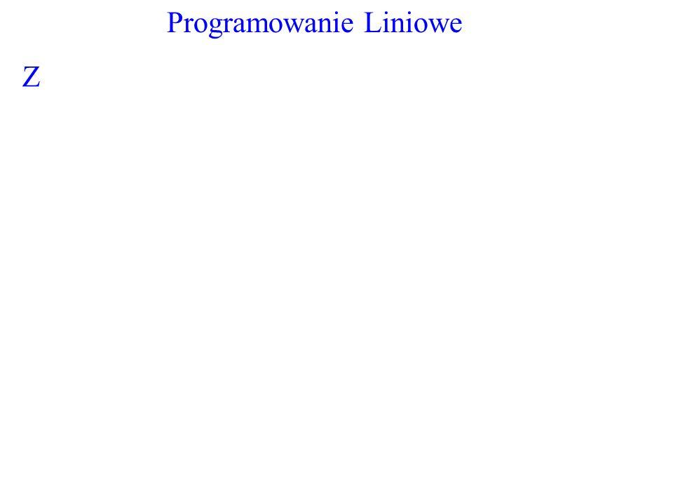 Programowanie Liniowe Z