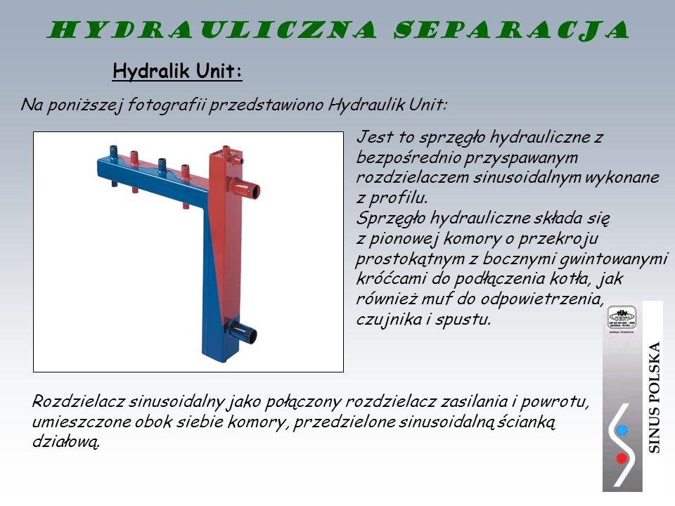 Hydralik Unit: Jest to sprzęgło hydrauliczne z bezpośrednio przyspawanym rozdzielaczem sinusoidalnym wykonane z profilu. Sprzęgło hydrauliczne składa