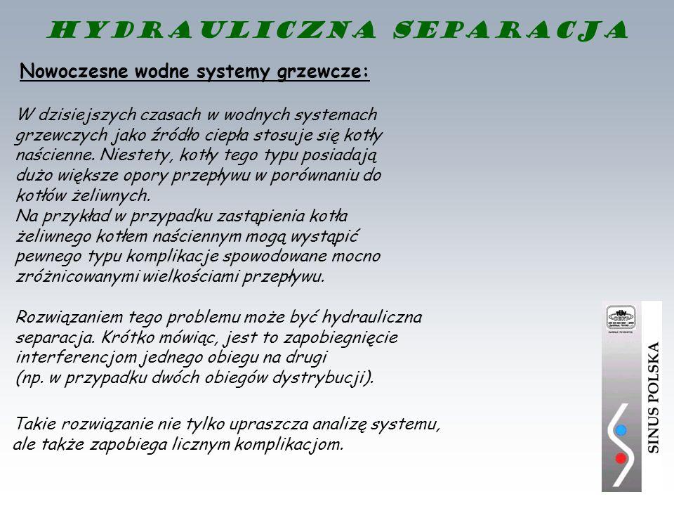 Nowoczesne wodne systemy grzewcze: Rozwiązaniem tego problemu może być hydrauliczna separacja. Krótko mówiąc, jest to zapobiegnięcie interferencjom je