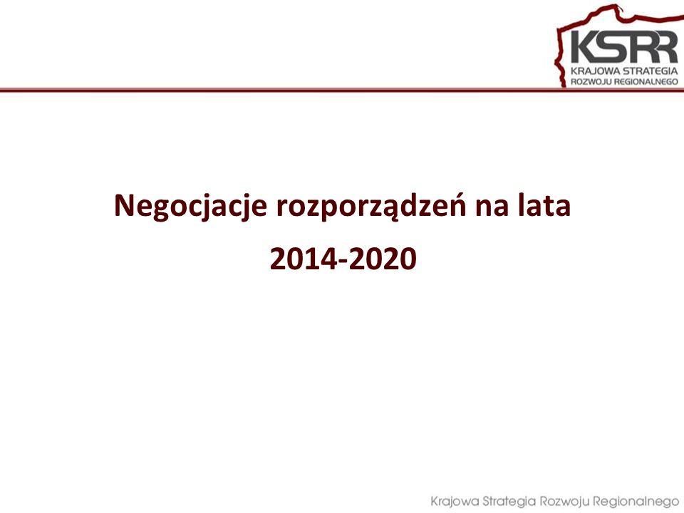Kluczowe etapy prac: Przygotowanie Systemu programowania i wdrażania dokumentów związanych z perspektywą finansową 2014-2020 – wrzesień 2012 r.