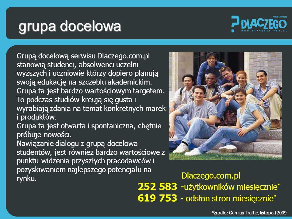 powrót do spisu logo i strona www Uczelni Każda uczelnia na Stronie Uczelni może pokazać swoje logo, co wśród użytkowników serwisu Dlaczego.com.pl może być łatwiejszym sposobem dotarcia i elementem lepszej identyfikacji uczelni.