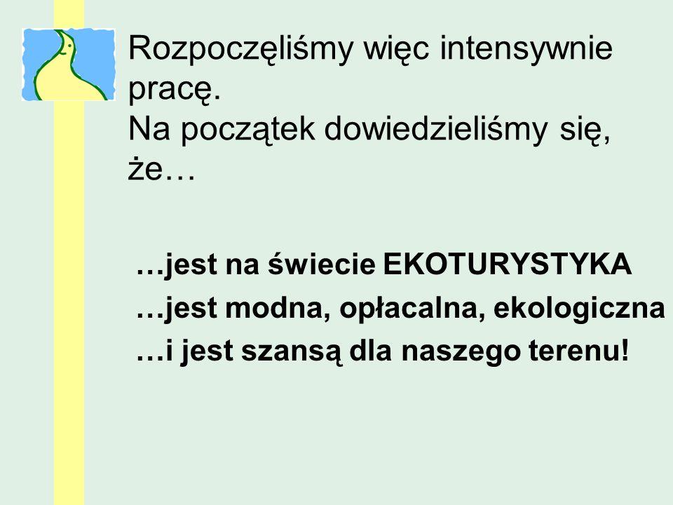 Poznaliśmy osoby i organizacje tworzące turystyczny i kulturowy rozwój naszego terenu Większe… NLOT www.nawsi.pl Mniejsze… Kuźnia Kurpiowska, Muzeum Gwizdka, Prostyńskie Kozy, SOMA… i wiele innych