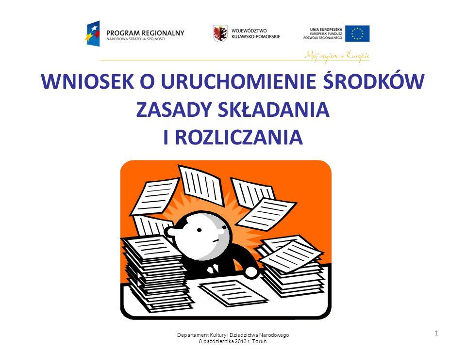 2 Wzór wniosku o uruchomienie środków stanowi załącznik nr 3 Umowy Partnerskiej zawartej 15 maja 2013 r.