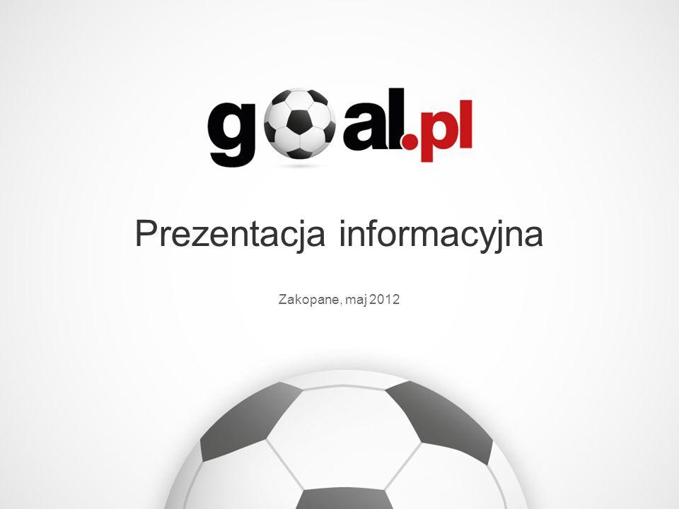Grupa Goal.pl to sieć dwunastu zintegrowanych serwisów piłkarskich.