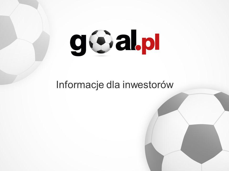 Informacje dla inwestorów