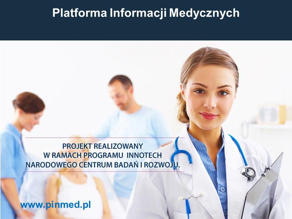 Platforma Informacji Medycznych www.pinmed.pl