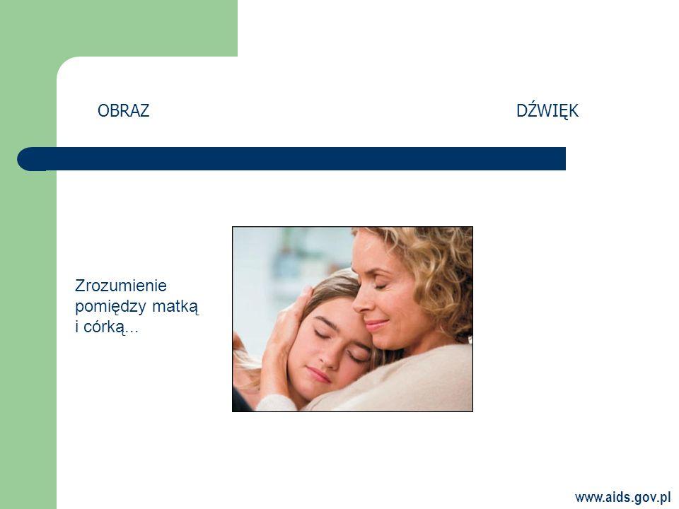 www.aids.gov.pl OBRAZDŹWIĘK Zrozumienie pomiędzy matką i córką...