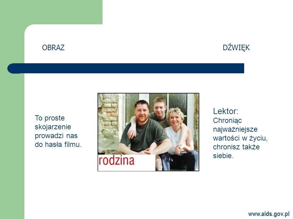 www.aids.gov.pl To proste skojarzenie prowadzi nas do hasła filmu.