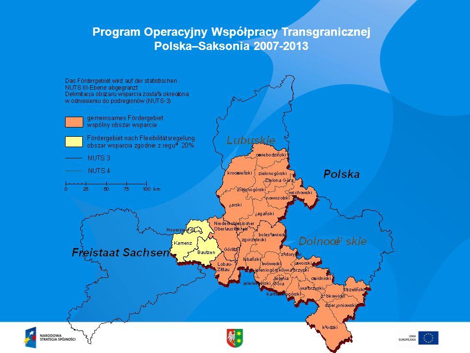 Program Operacyjny Współpracy Transgranicznej Polska–Saksonia 2007-2013